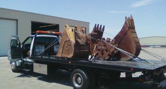 Towing Industrial Machinery