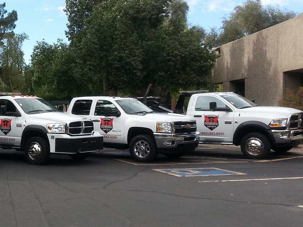 phoenix-towing-services-trucks Towing Service