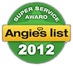 super service aword - angies list 2012