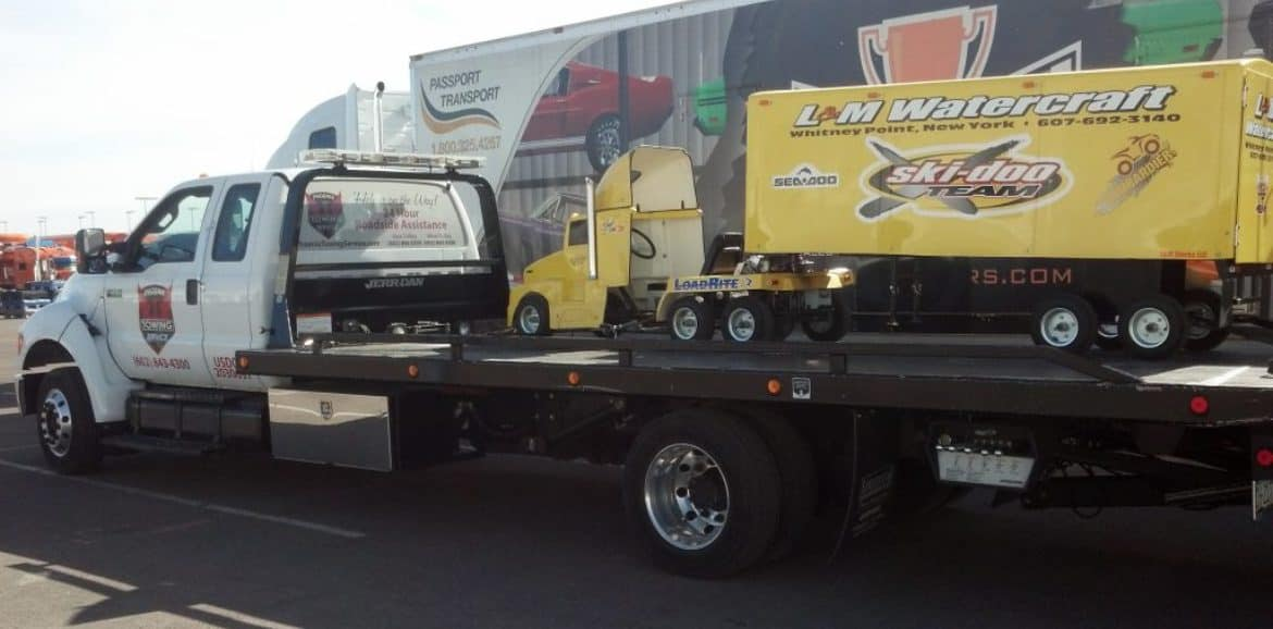 Phoenix-Towing-Service-Machinery Towing Service