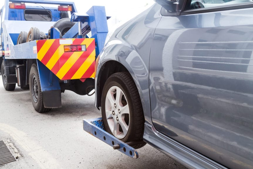 Image of towing