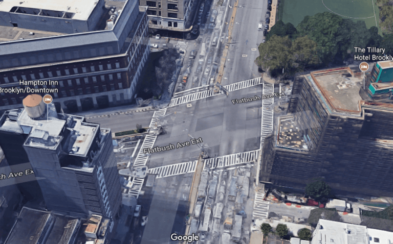 tillary-flatbush-brooklyn-768x478 15 Most Dangerous Intersections in America