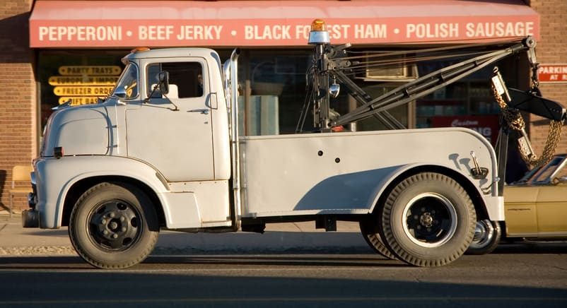 vintage-tow-truck History Of Towing And Tow Trucks - How It All Started?