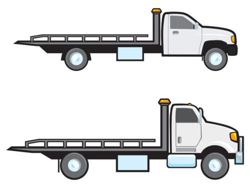 Flatbed-Tow-Trucks-e1516286429555 4 Different Types of Tow Trucks
