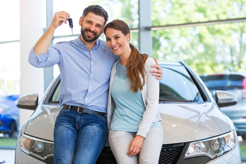buying a new car