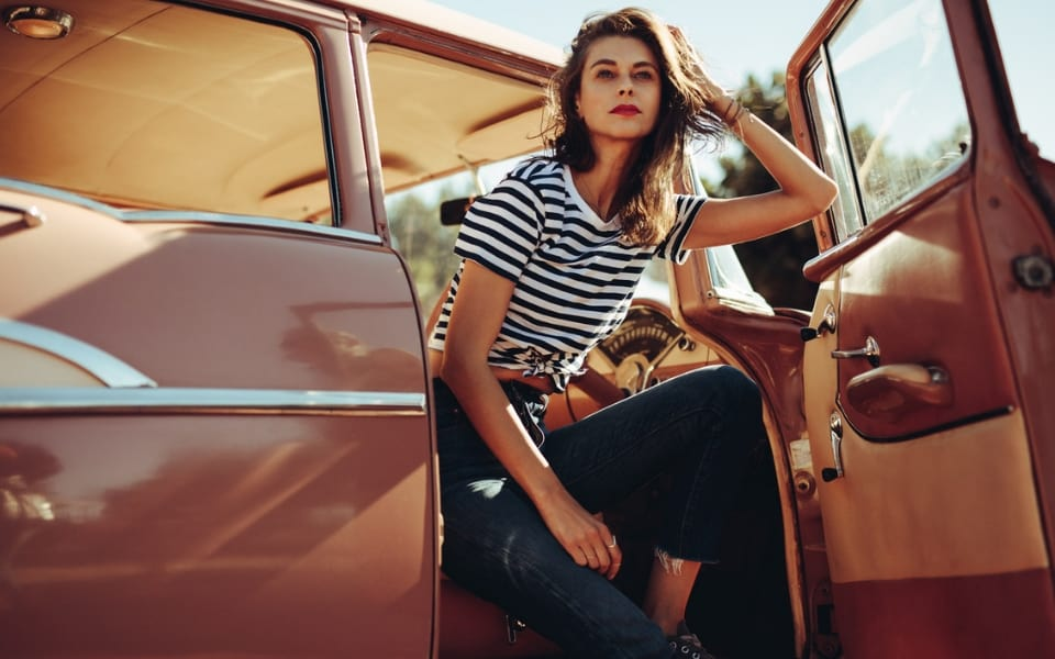woman-in-classic-car Should You Buy a Classic Car from a Private Seller?