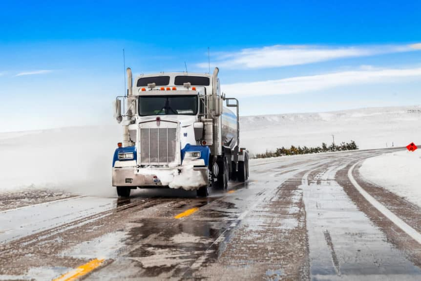 Winter Driving Tips for Truck Drivers