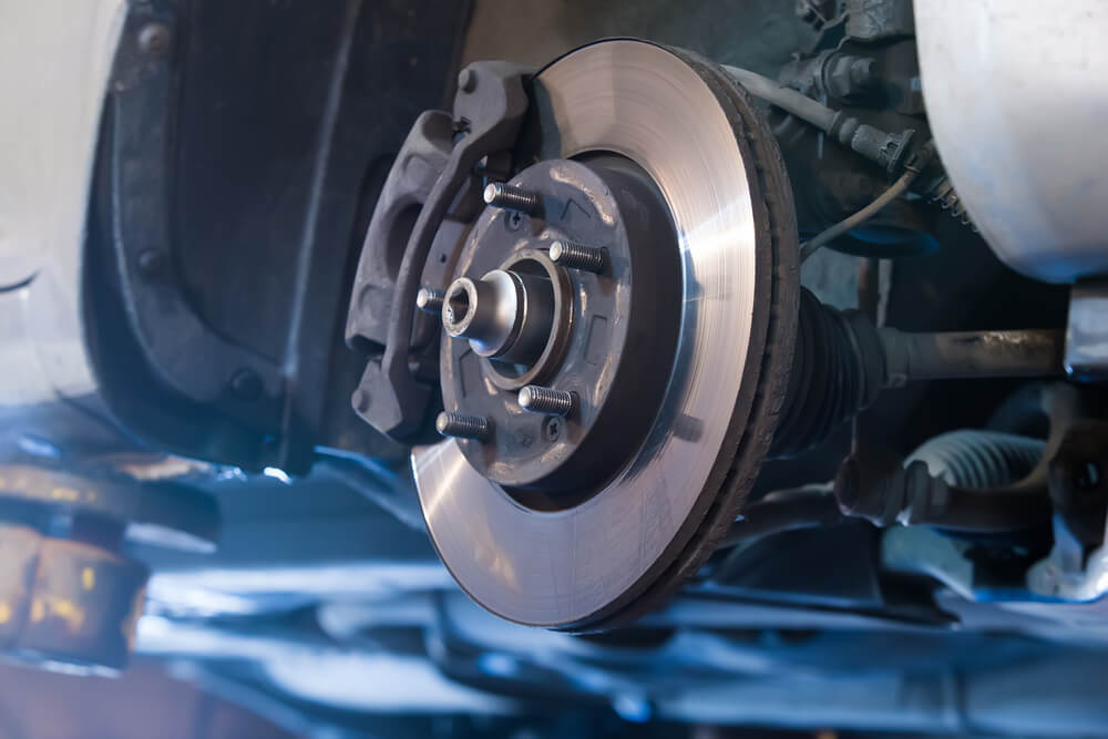 Vibrations-While-Braking Car Brake Rotors - Symptoms of Bad Rotors