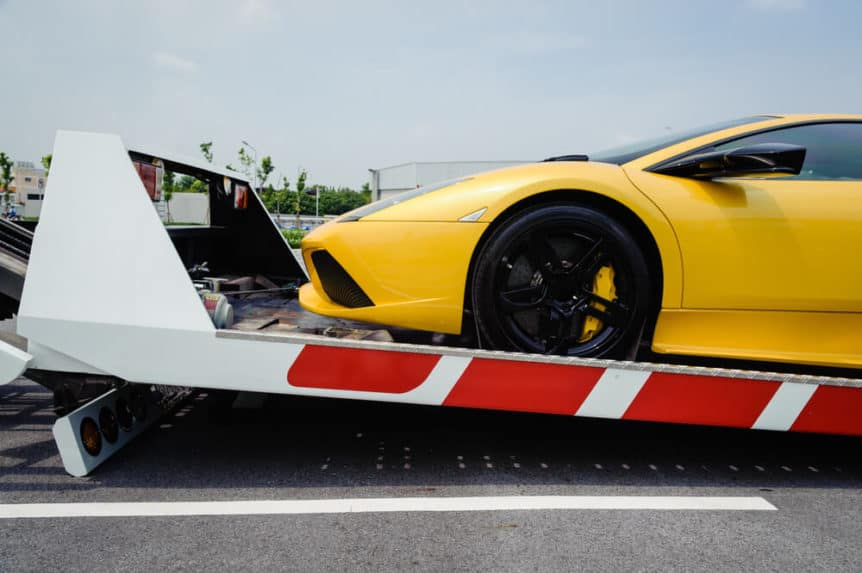 Sports cars Towing